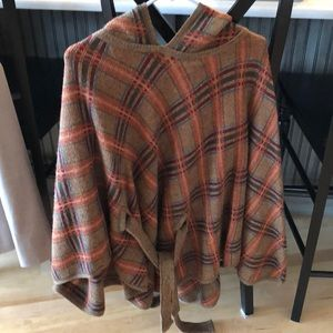 Anthropology cape sweater